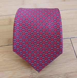 👔 Christian Dior Silk Red Italian Men's Tie